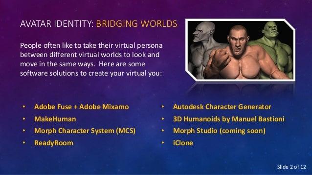 Bridging worlds: Avatar Idenitity