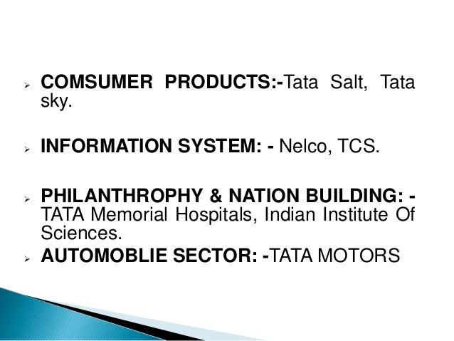 2000 Tata Tea acquires The Tetley Group Ltd., UK  2001 TATA-AIG marks the Tata re-entry into insurance.  2005 Tata Stee...