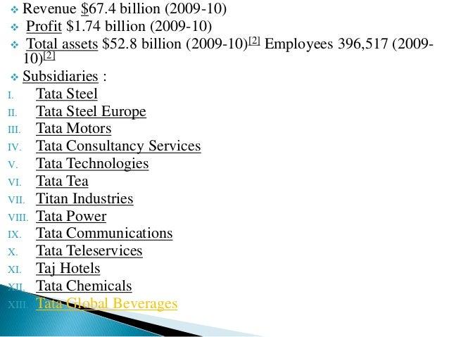  Revenue $67.4 billion (2009-10)   Profit $1.74 billion (2009-10)   Total assets $52.8 billion (2009-10)[2] Employees 3...
