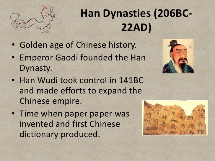 an overview of the han empire and the golden age in chinese history The han dynasty was one of the most powerful empires in chinese history   han china is remembered as a golden age in the nation's history, when chinese .