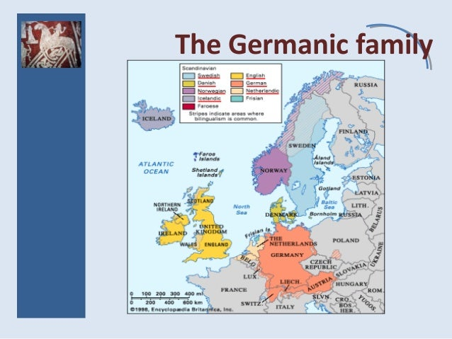 The Germanic family