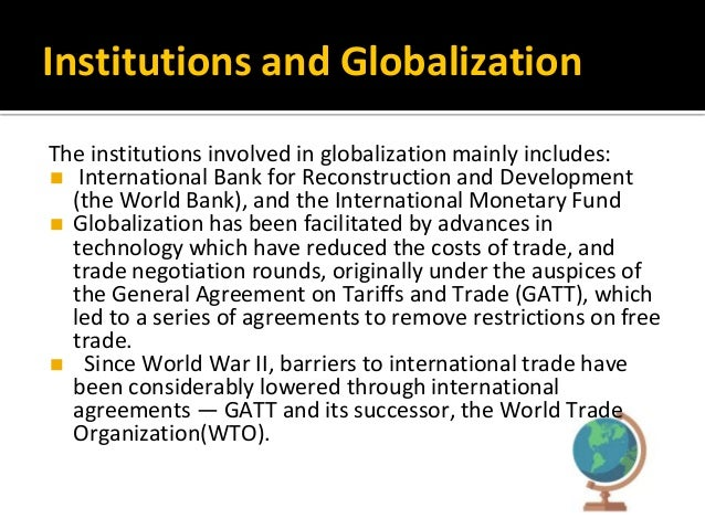 implications of globalization and technology on negotiation How globalization and technology affect negotiation.
