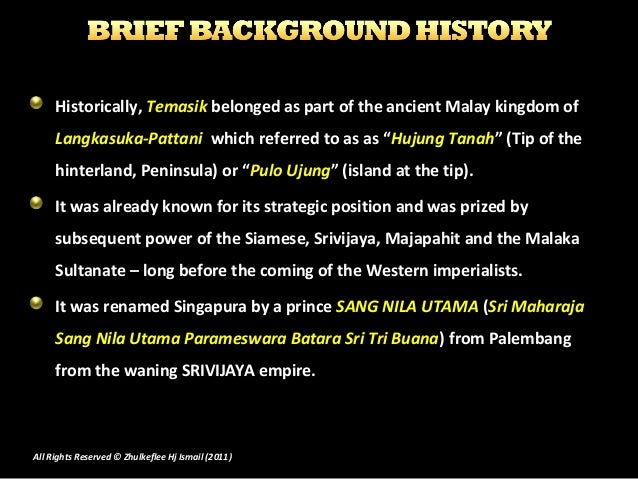 Brief History of Singapore