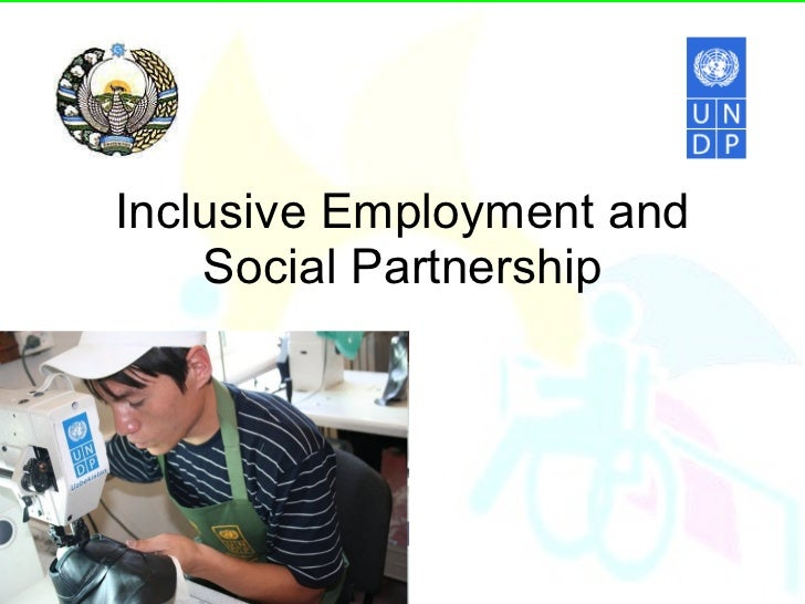 Inclusive Employment and Social Partnership
