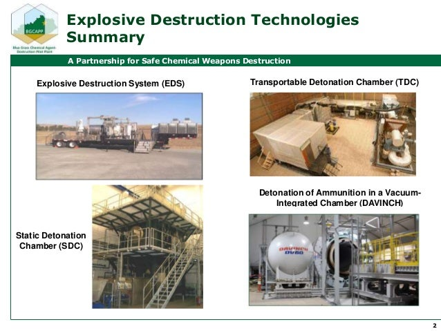 chemical weapons and explosives In force since 1997, the chemical weapons convention prohibits the  victim- activated improvised explosive devices (ieds) are also.