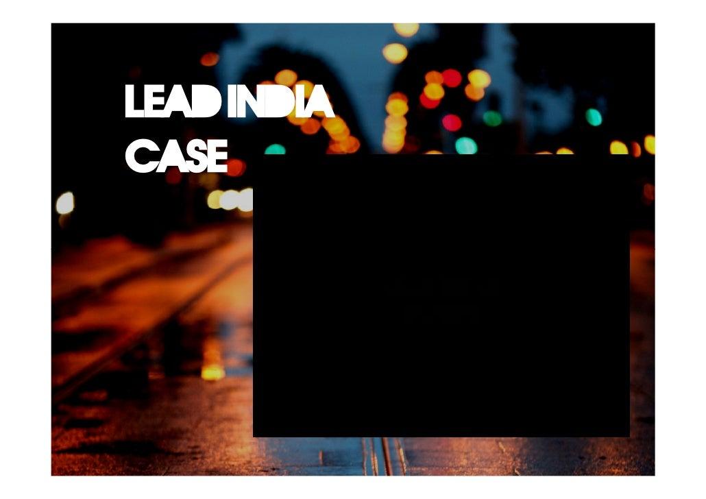 Lead india case