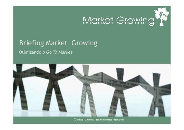 Briefing Market GrowingOtimizando o Go To Market© Market Growing – Todos os direitos reservados.