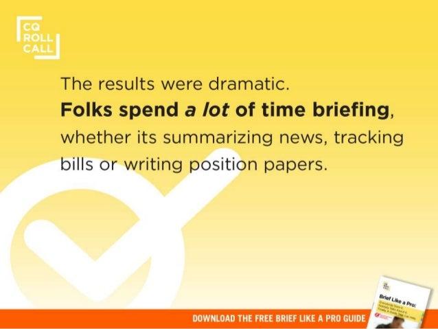 Inside Washington's Briefings Culture Slide 3