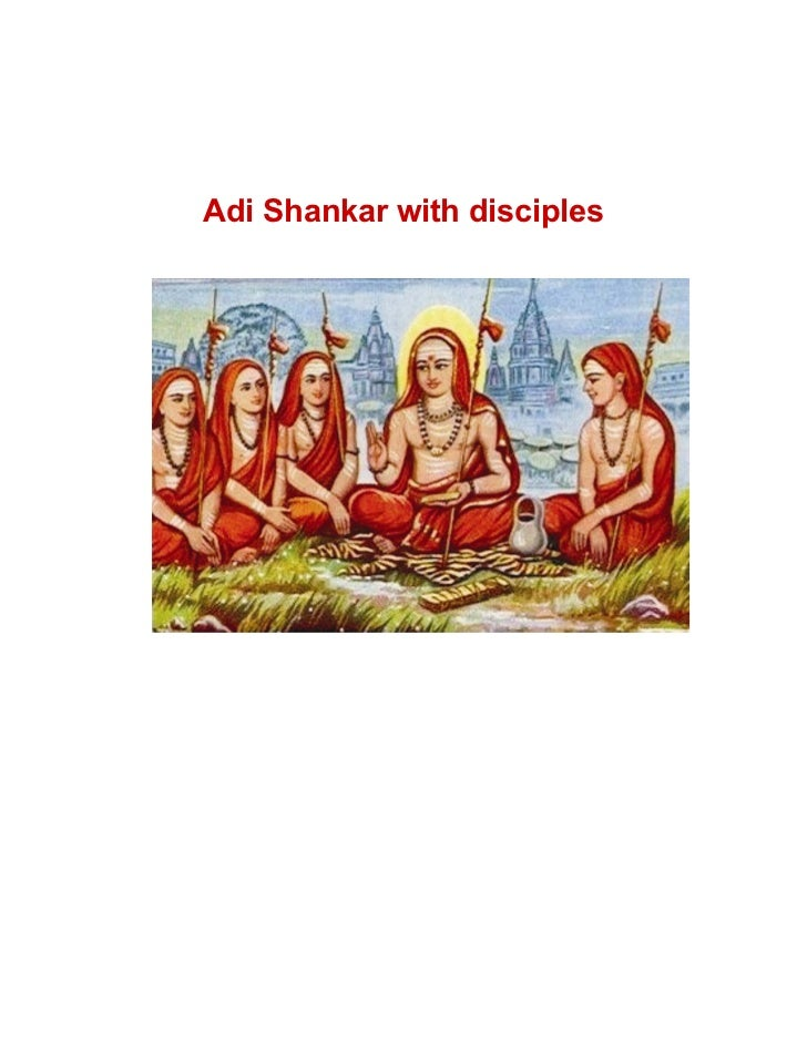 Brief Life Sketch Of Adi Shankaracharya