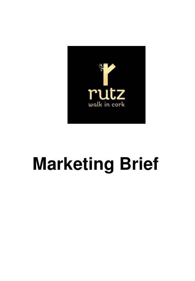 Marketing Brief 