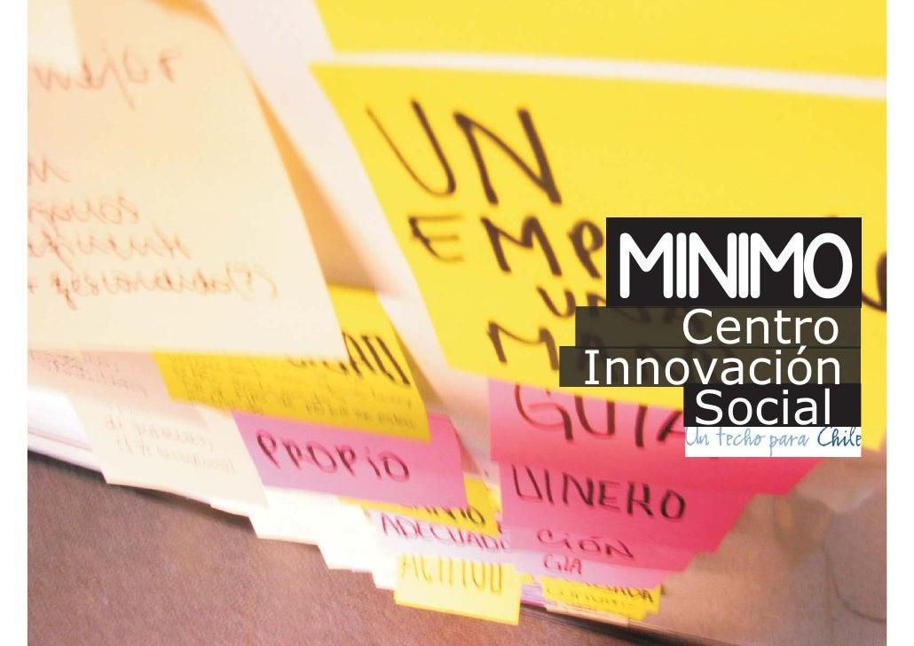 minimo    Centro Innovación     Social