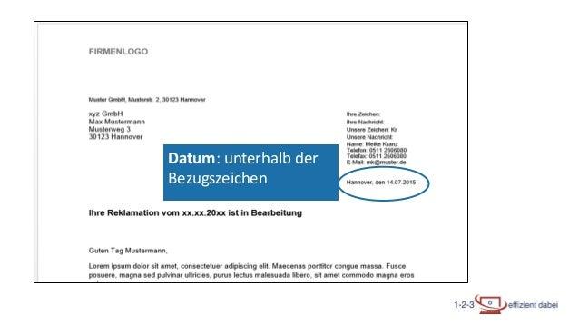 Brief Nach Din5008