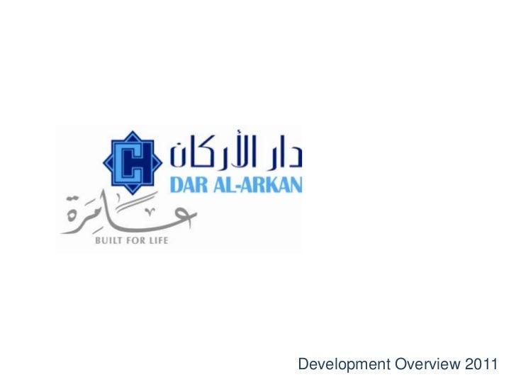 Development Overview 2011