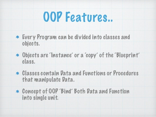before object oriented programming