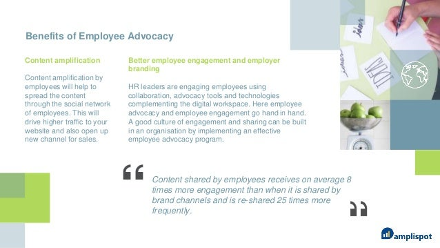 Brief overview and benefits of employee advocacy