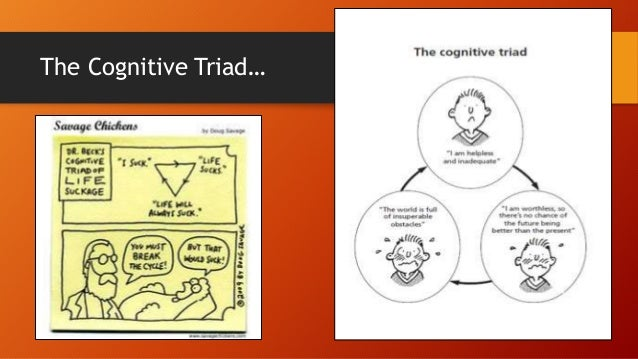The Cognitive Triad…