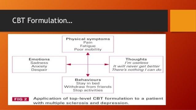 CBT Formulation…