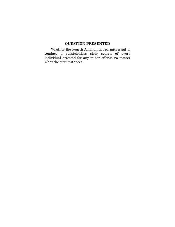 Florence v. Board of Chosen Freeholders
