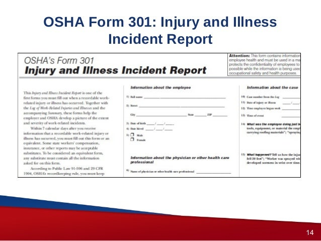 OSHA Recordkeeping Forms by OSHA