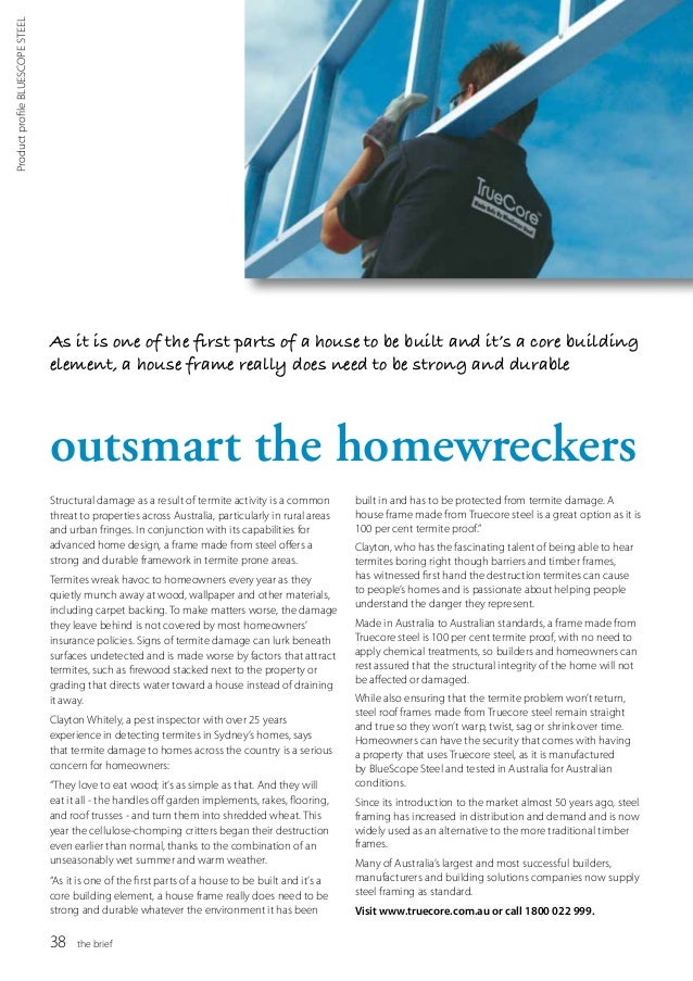 The Brief - Building Designers Australia Winter 2013