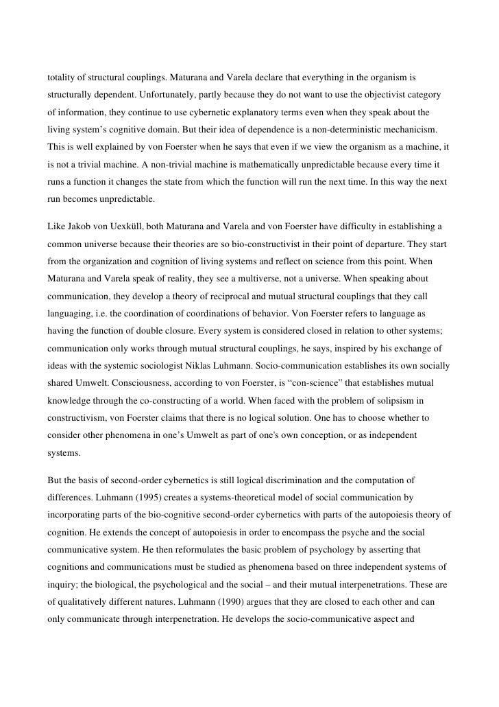 Brier, Soren. Cybersemiotics (Lectura)