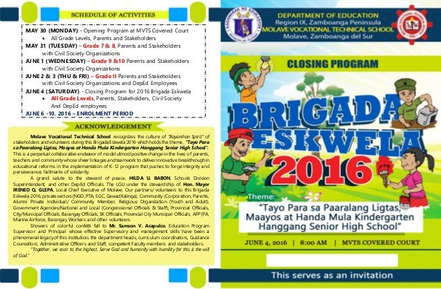 Mvts brigada closing program 2016 ardcel c enriquez 2 yadclub Image collections