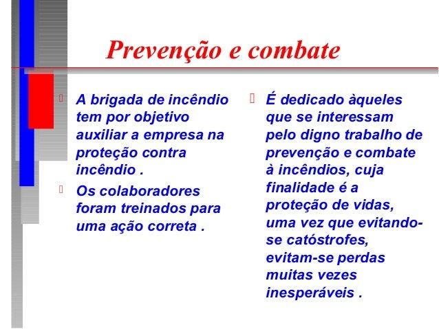 Brigada de incêndio   apresentação powerpoint Slide 2