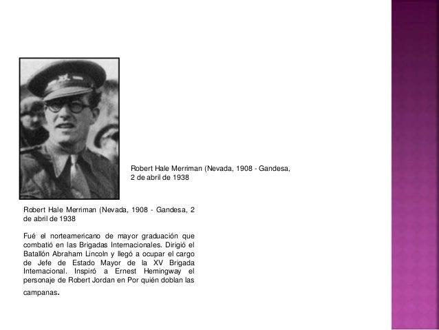 Las Brigadas Internacionales en la guerra civil española