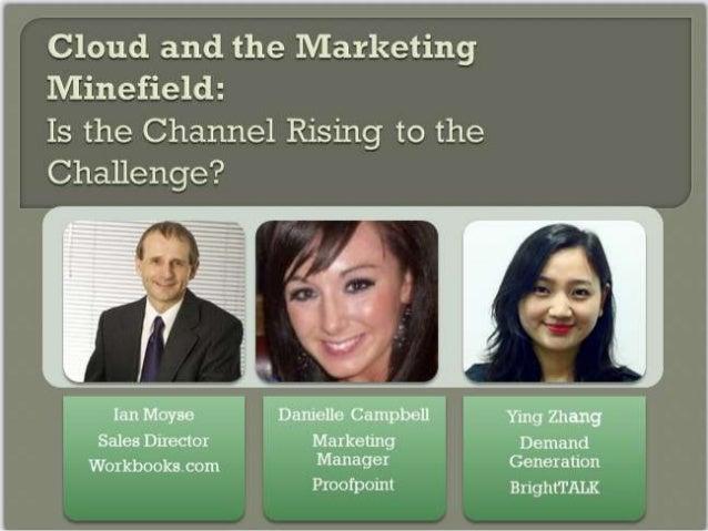 Cloud & The Marketing Minefield