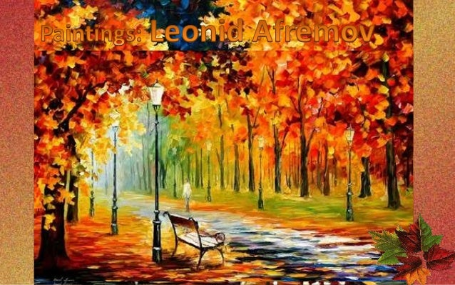 Bright Colors Of Autumn Paintings