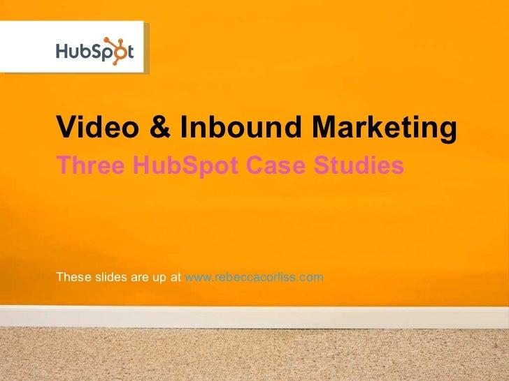 Hubspot Case Case Study Solution & Analysis
