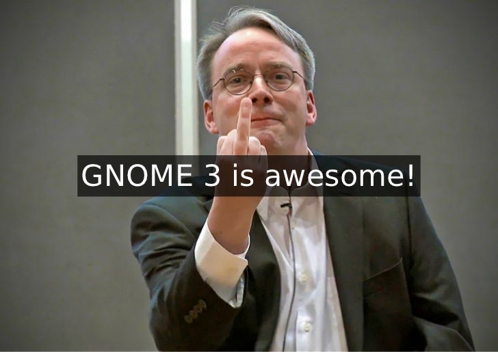 GNOME 3 is awesome!
