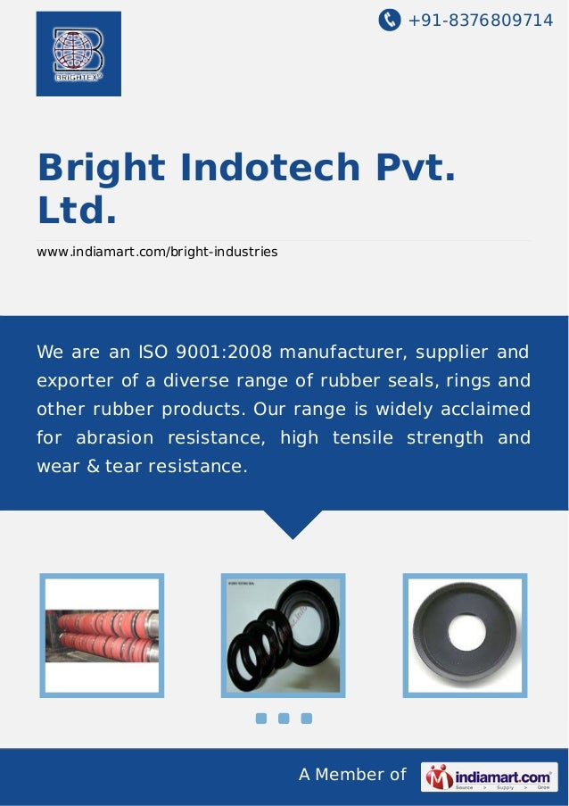 +91-8376809714  Bright Indotech Pvt. Ltd. www.indiamart.com/bright-industries  We are an ISO 9001:2008 manufacturer, suppl...