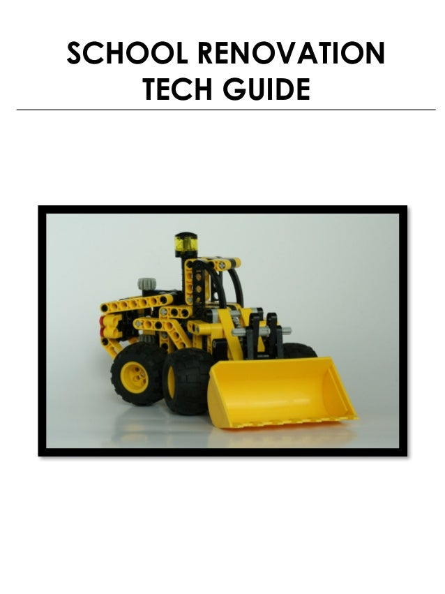 SCHOOL RENOVATION TECH GUIDE