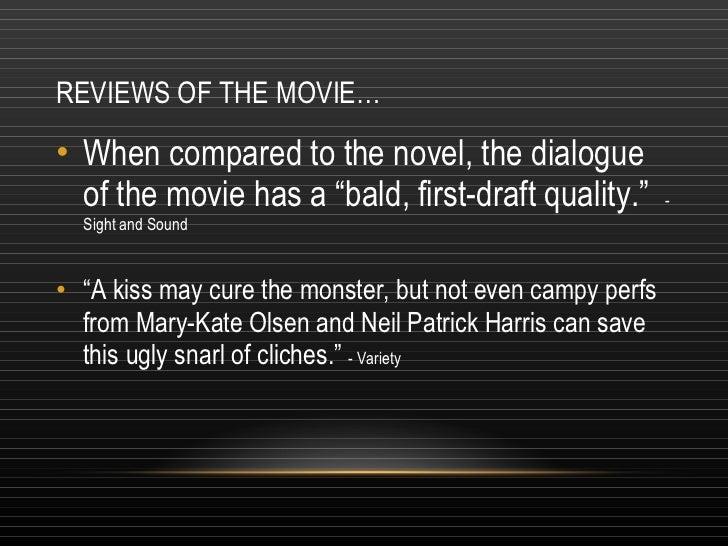 book vs movie comparison