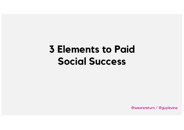 Brighton SEO - What We Learned About Paid Social Advertising From Spending 1 Million on Facebook by Guy Levine Slide 3