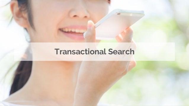 Transactional Search; 28.