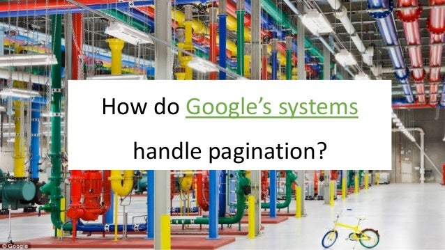@Adoublegent brightonSEO How do Google's systems handle pagination?