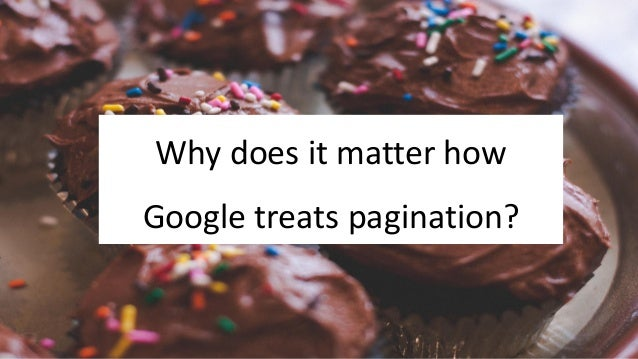 @Adoublegent brightonSEO Why does it matter how Google treats pagination?