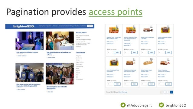 @Adoublegent brightonSEO Pagination provides access points