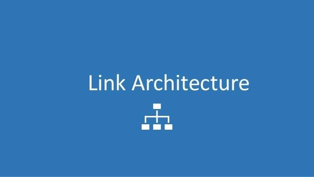 @Adoublegent brightonSEO Link Architecture