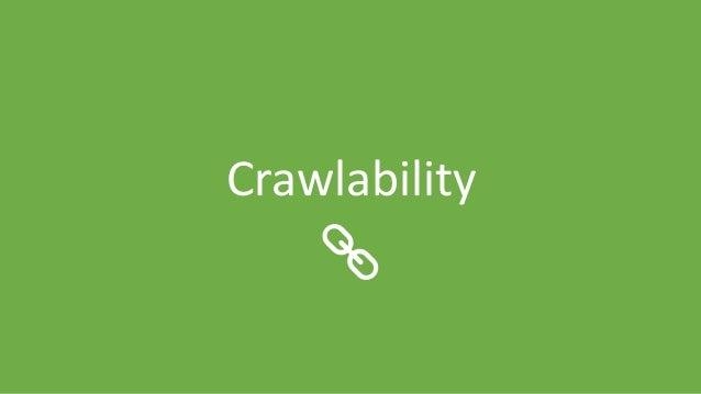 @Adoublegent brightonSEO Crawlability