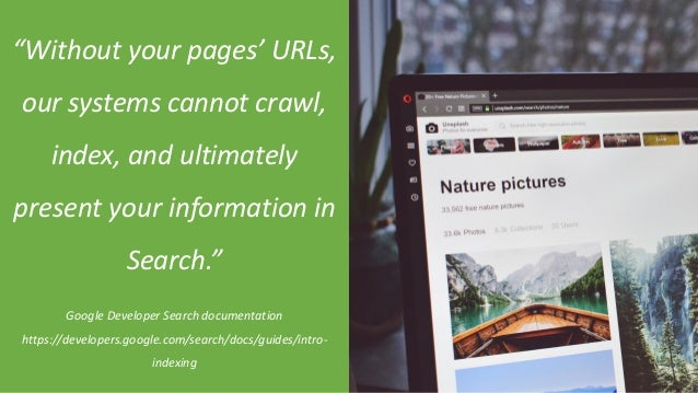 """@Adoublegent brightonSEO """"Without your pages' URLs, our systems cannot crawl, index, and ultimately present your informati..."""