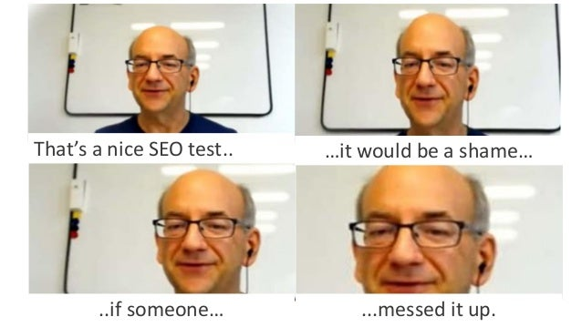 @Adoublegent brightonSEO That's a nice SEO test.. …it would be a shame… ..if someone… ...messed it up.