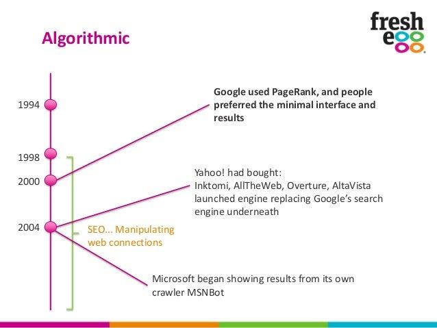 Google As Predator: The Evolution Of Search By David