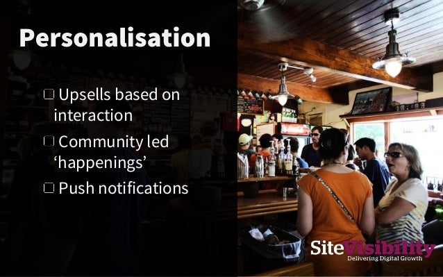 Restaurant offers 'personalised' to your tastes appear on screens or phone on passing Permission based offers from your fa...