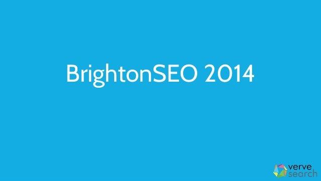BrightonSEO 2014