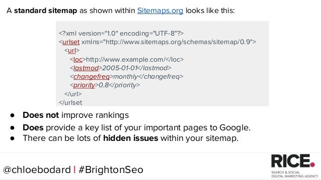 brightonseo 2017 seo quick wins from a technical check