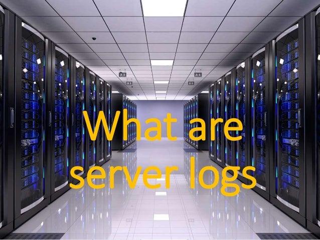 A Basic Guide to Server Log Analysis Slide 2