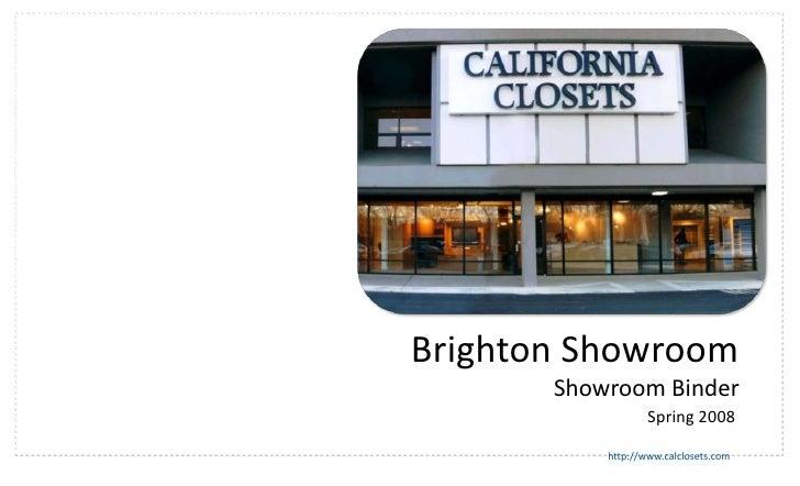Brighton Showroom Showroom Binder Spring 2008 ...